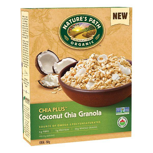Nature's Path Chia Plus Coconut Chia Granola - 350g