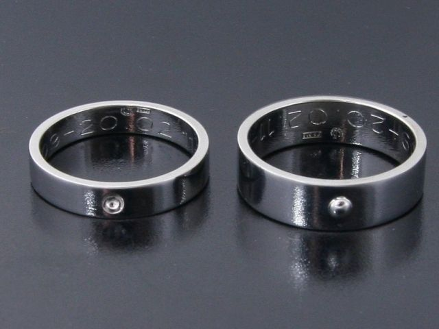 Rings by Bielak  imprint collection   certified white gold
