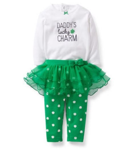 Carters 6 9 12 18 24 Months St Patricks Day Outfit