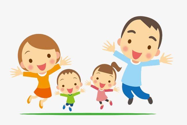 Uma Familia Feliz Clipart De Familia Familia Familia Pintada A Mao Imagem Png E Psd Para Download Gratuito Family Cartoon Family Drawing Family Art