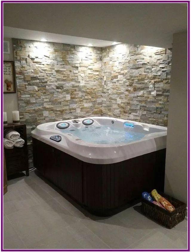 25 Awesome Inground Hot Tub Ideen Die Ihre Kiefer Fallen Drop Icehard Net Awesome Die Drop Fallen Hot Icehard Hot Tub Room Indoor Hot Tub Home Spa Room