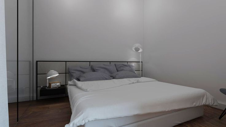#bedroom #glass #modern bed