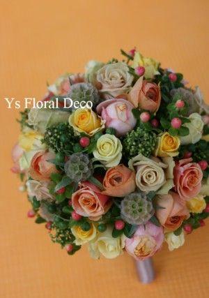 キュートなブーケ  ys floral deco @パルティーレ立川
