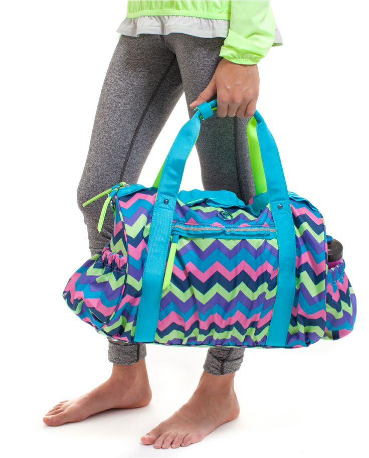 Carry your gear to the court, or your mat to the studio in this versatile duffel | Court Side Duffel