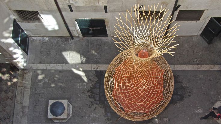 Galería de Proyecto WARKA: Torres de bambú que recogen agua potable del aire - 5