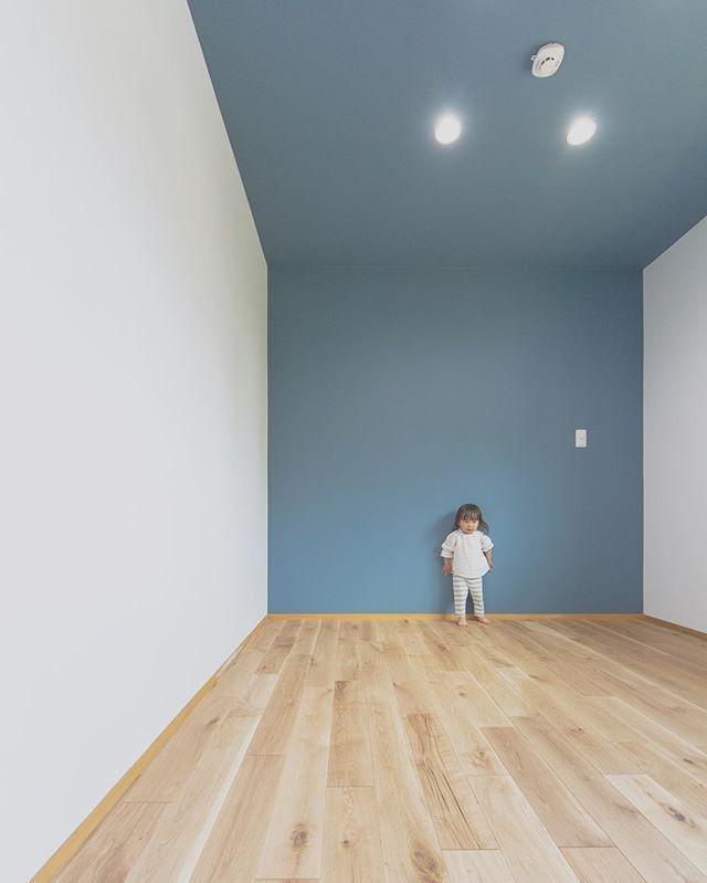 More Picture Mirai 39 House Pic 男の子のお部屋はブル House Design Wall Deco Living Room Grey