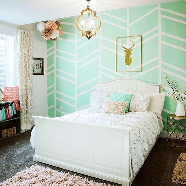 Green Kids Room: 88 Best Images About Mint Green Nursery On Pinterest