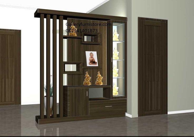 Jual Partisi Sekat Ruang Tamu Minimalis Natural Melamine Ukir Jepara Model Terbaru Harga Murah By Gallery Furniture Jepara
