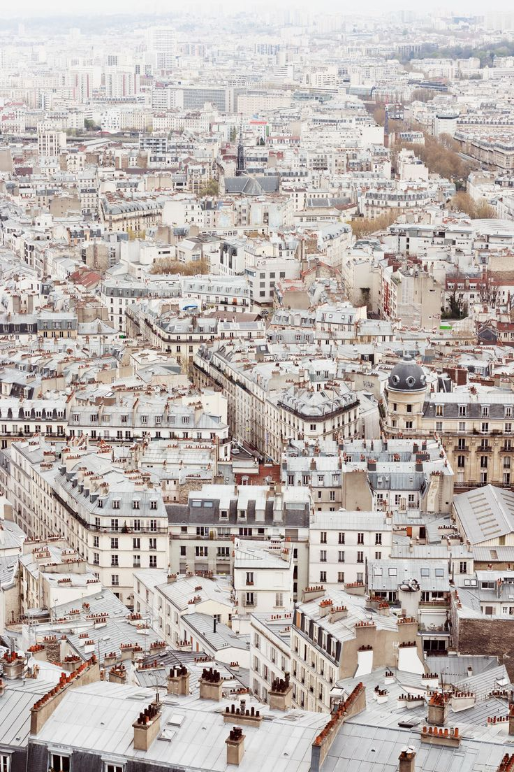 Paris rooftops - so pretty! // Photo Journal: Paris | @thefuturekept