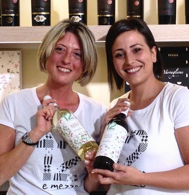 "Let's keep on meeting Varvaglione's team. These are Rossana and Federica. They work in our wine shop. Rossana defines herself as always uncertain, but irony is her magic formula in all circumstances. She loves sport and she ""suffers from"" too passion for nature … can she get better? She does not think so. Federica, her main defect? Eating too much at weekends … and weekdays too! Is this generosity at the table that makes her so cheerful and positive? Who knows. #varvaglione #winelovers"