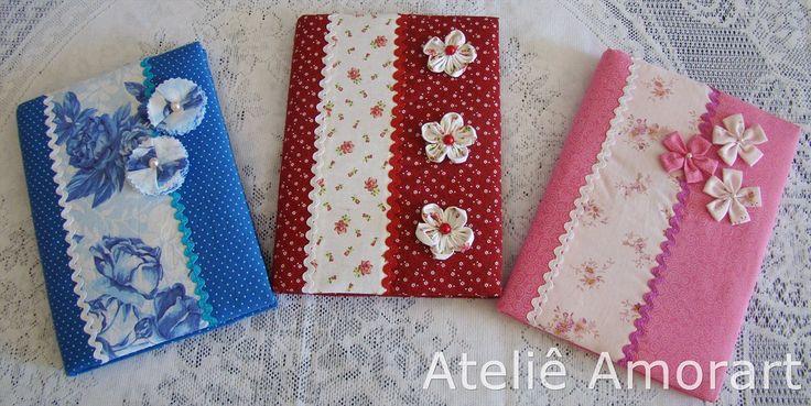 Ateliê Amorart: Cadernos Decorados