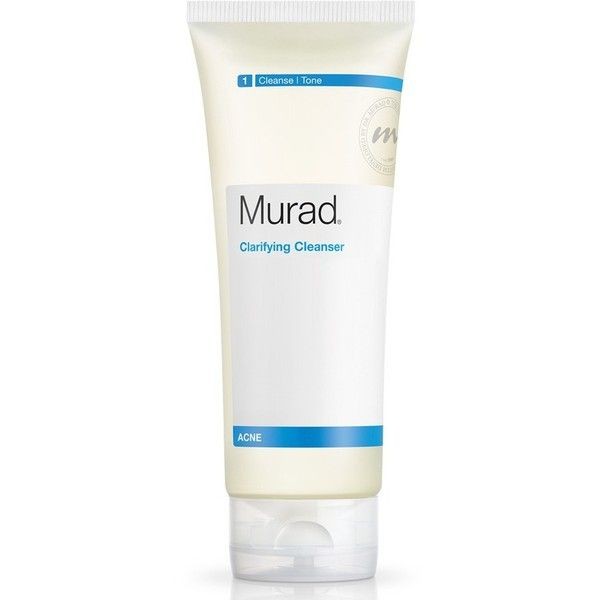 Murad Clarifying Cleanser ($28) ❤ liked on Polyvore featuring beauty products, skincare, face care, face cleansers, no color, sulfate free paraben free face wash, sulfate free face wash, murad face wash, murad and antibacterial face wash