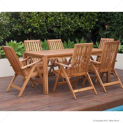 Palma Majorca Outdoor Timber 7pc Set