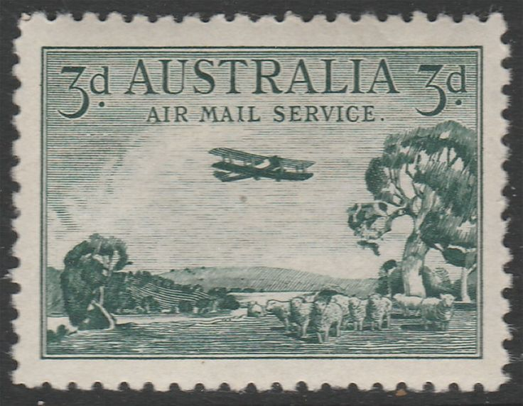 KGV 1914 - 1936 1928 3d Airmail Service  Mint. Find more KGV 1914 - 1936 at Stamp Shop