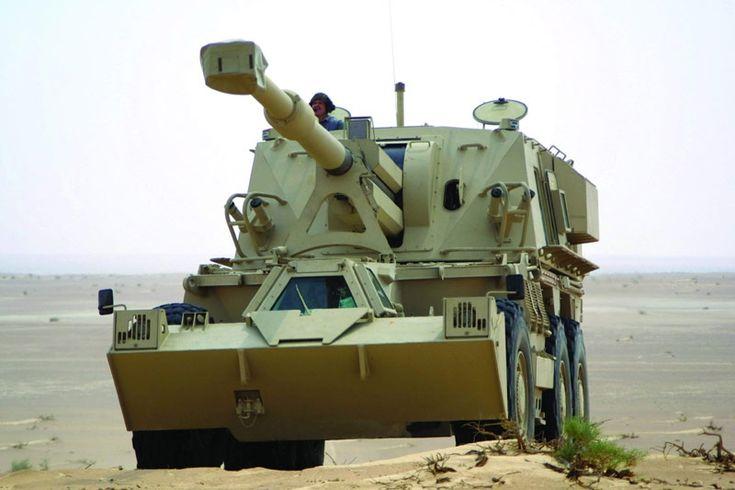 G6 155mm Self-propelled Artillery Gun