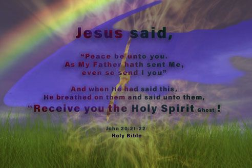 "Holy Spirit: ""Receiving the Holy Spirit of YHVH (YEHOVAH)"""