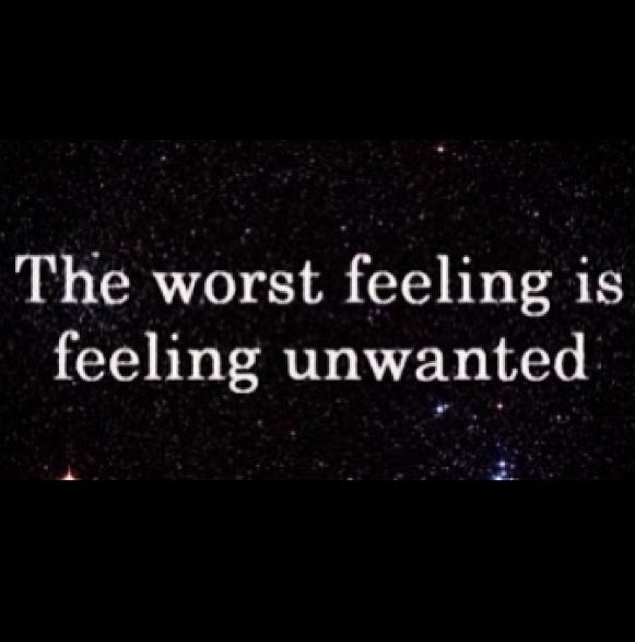 Sad Tumblr Quotes About Love: Best 25+ Feeling Unwanted Ideas On Pinterest
