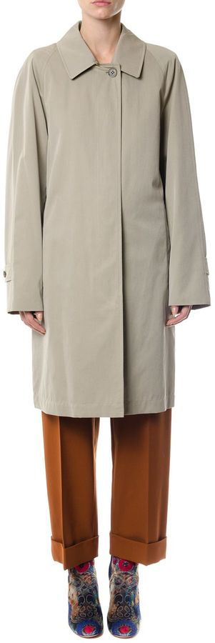 Burberry Classic Trench Coat In Cotton
