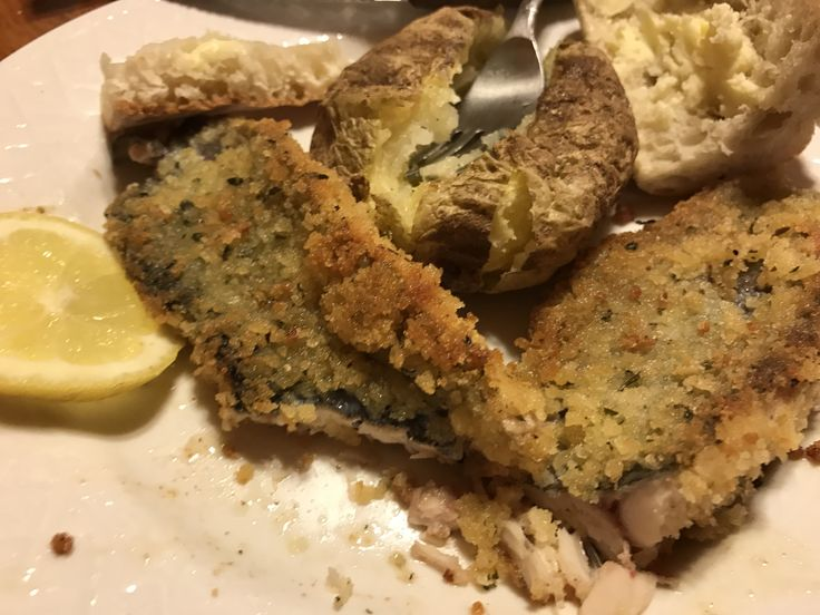 Sinmple pan fried fresh caught brook trout from the Driftless area of Wisconsin