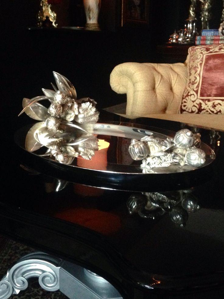 Rafael Bello Joyas. Bandeja. Colección Luxury-Home.