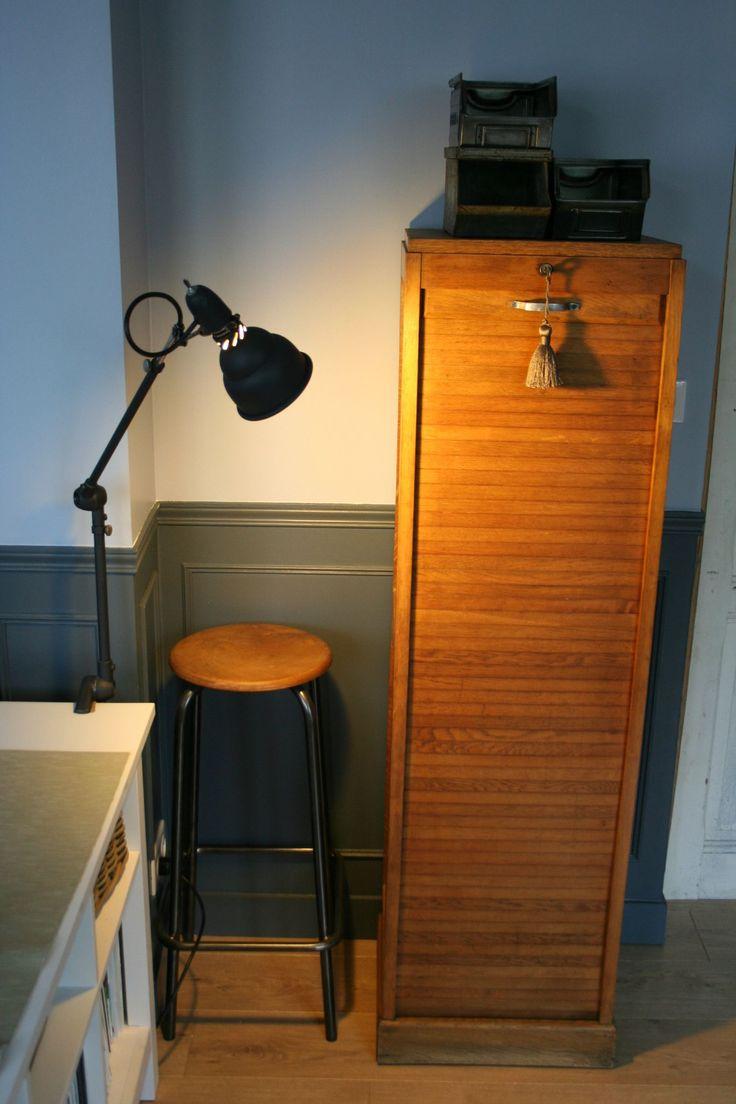 Classeur à rideau en bois (6)