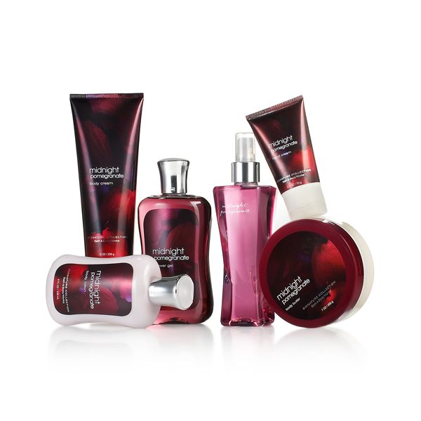 Midnight-Pomegranate bath and body works Fulcher/Bryan christmas