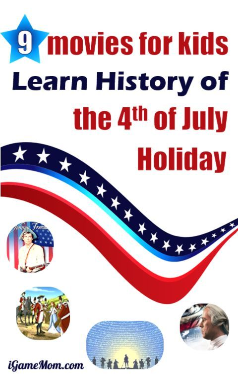 educational movies for kids to learn American history of July 4th | Independence Day | patriotic movies | summer movie