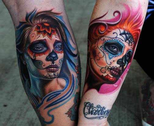 Brilliant Portrait Tattoos Nikko Hurtado Lost Minor For