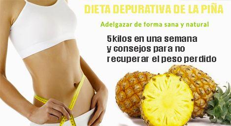 DIETA DE LA PIÑA!!! | Remedios De Hoy
