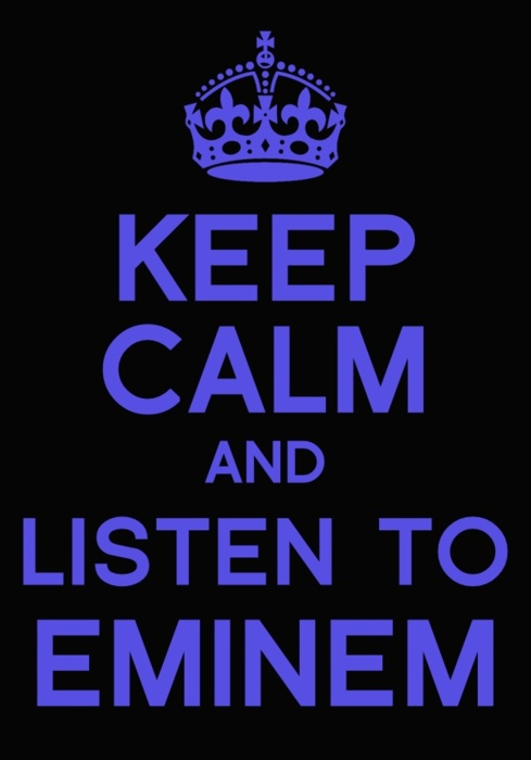 does eminem write his own songs