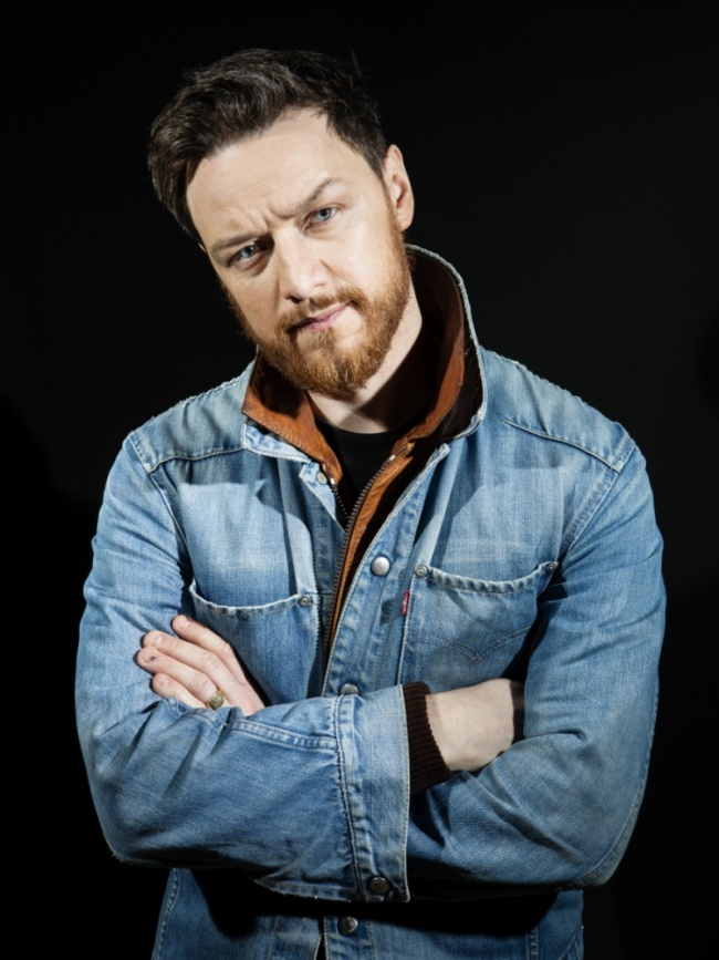 James McAvoy...because I think he's aged wonderfully and I don't care about his ginger beard. Ruggedness suites him.