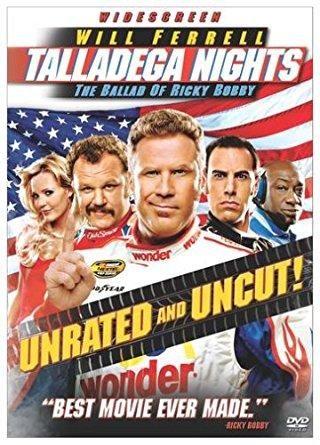 Will Ferrell & Sacha Baron Cohen & Adam McKay-Talladega Nights - The Ballad of Ricky Bobby