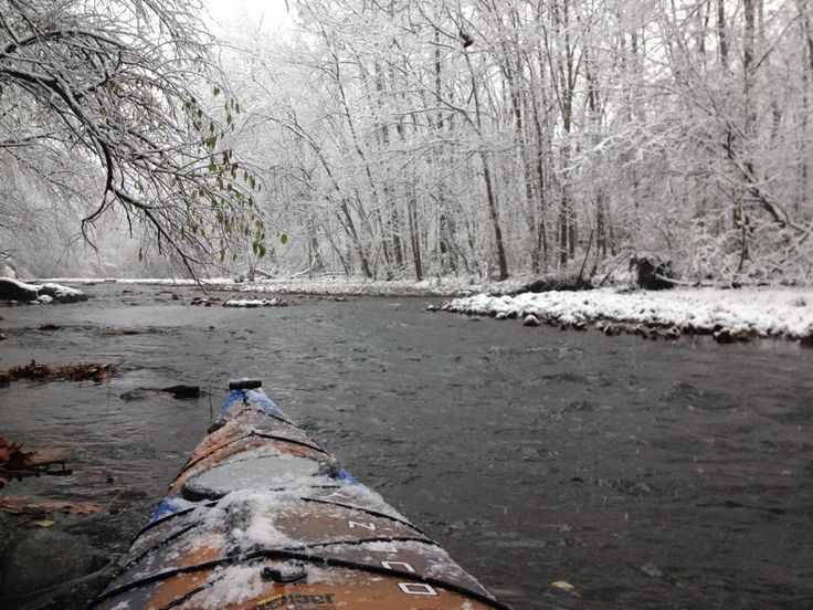 How to Reap the Rewards of Cold Weather Kayaking