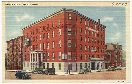 Bangor House, Bangor, Maine by Boston Public Library, via Flickr
