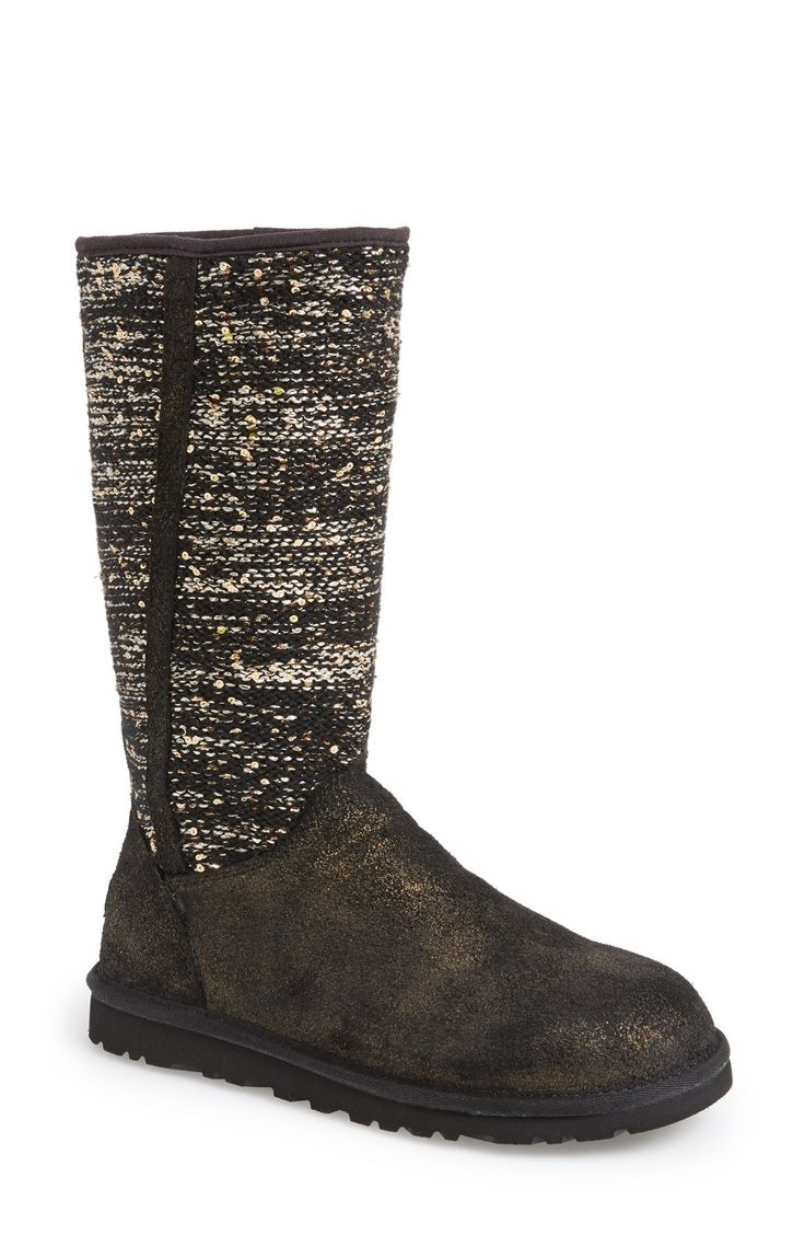 Sparkle UGGs!!! Need these in my closet.