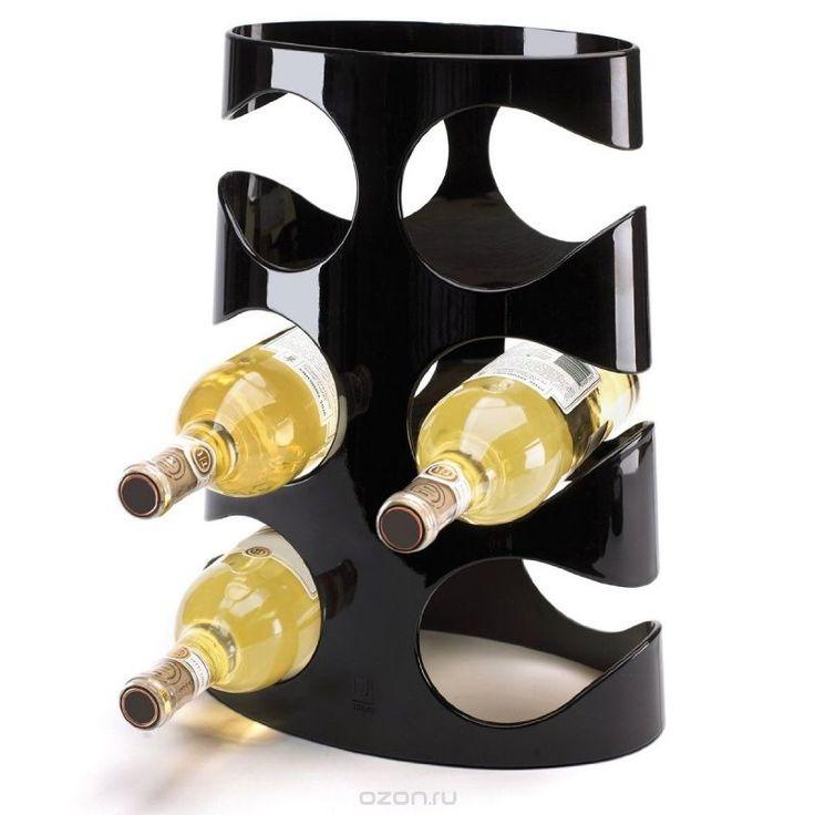 """Подставка для винных бутылок Umbra """"Grapevine"""", цвет: черный. 330950-040…"""