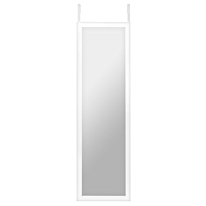 Americanflat 12 X 48 Inch Over The Door Mirror Full Length Mirror