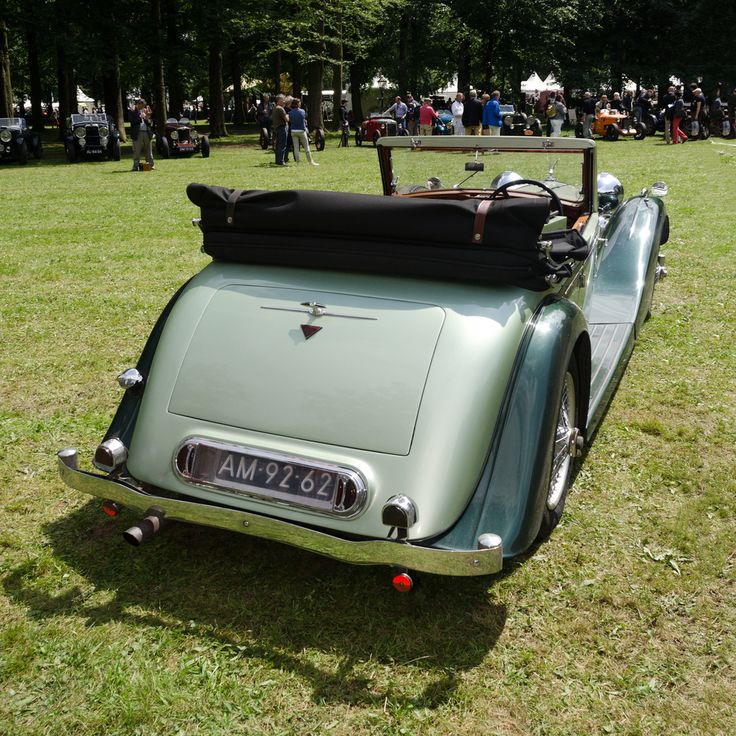35 best classic green cars with red interior images on Pinterest ...