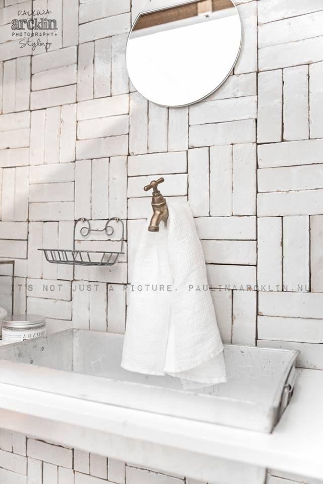 rustic tiles- no grout