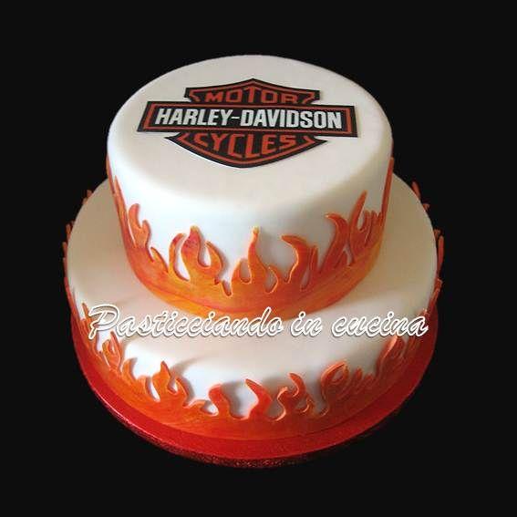 Harley Davidson Cake Torta Harley Davidson
