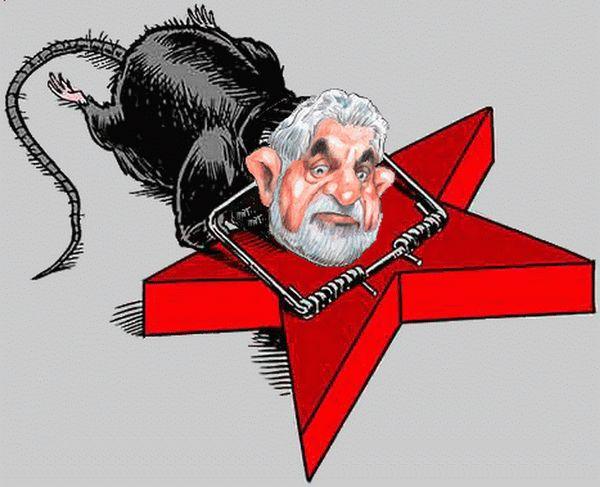 Lula, Dilma, Falcão, todo mundo tem o rabo preso com o tesoureiro Vaccari.
