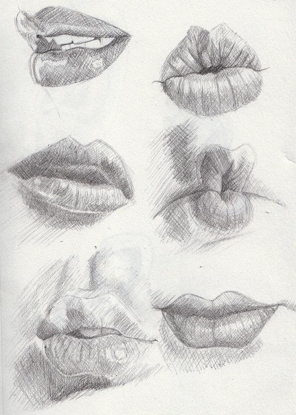 стеллы рассказали, картинки как рисовать губы сообщению