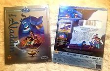 Aladdin Blu-ray/DVD 2015 2-Disc Set Diamond Edition Brand NewFree Shipping