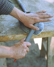 Sharpening Hoes, Shovels, and Edgers - Martha Stewart Home & Garden