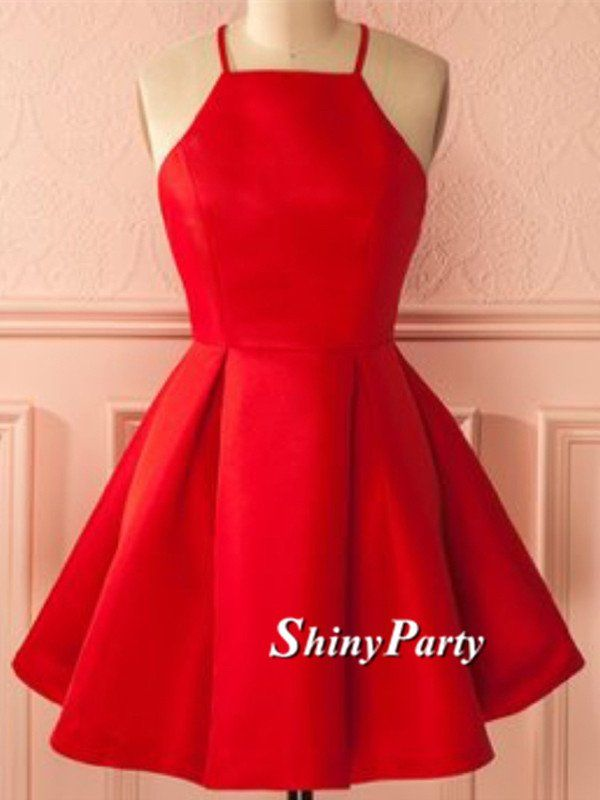 The 25  best Short red prom dresses ideas on Pinterest | Short red ...