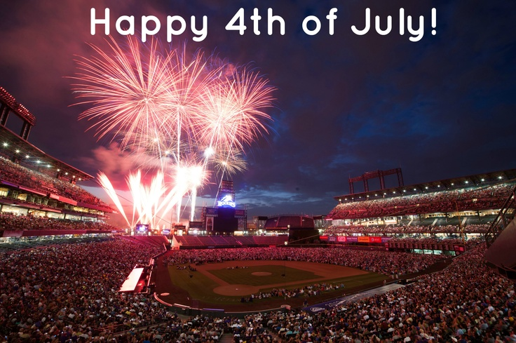 Fireworks. Baseball. Happy Independence Day!!!