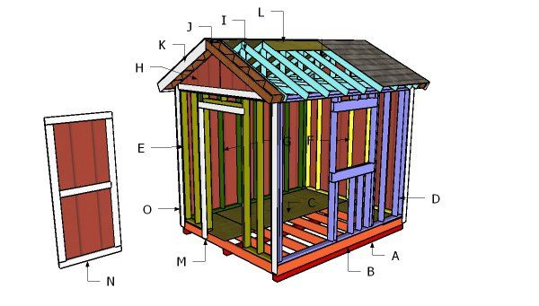 10 8 Shed Free Diy Plans Shed Plans Free Shed Plans Diy Shed