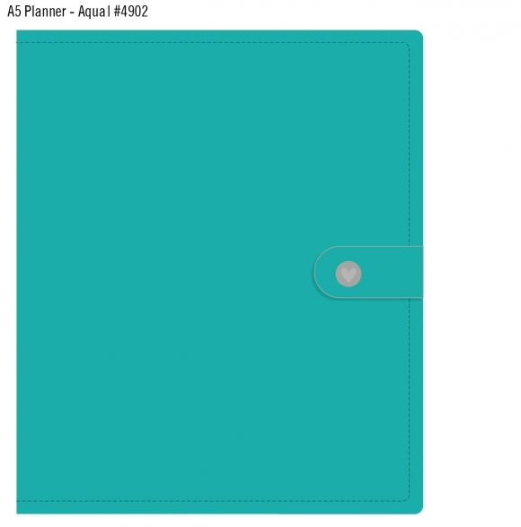 The clasp says it all! I <3 #simplestories awesome planner collection #carpediem, especially with a fabulous Aqua binder!