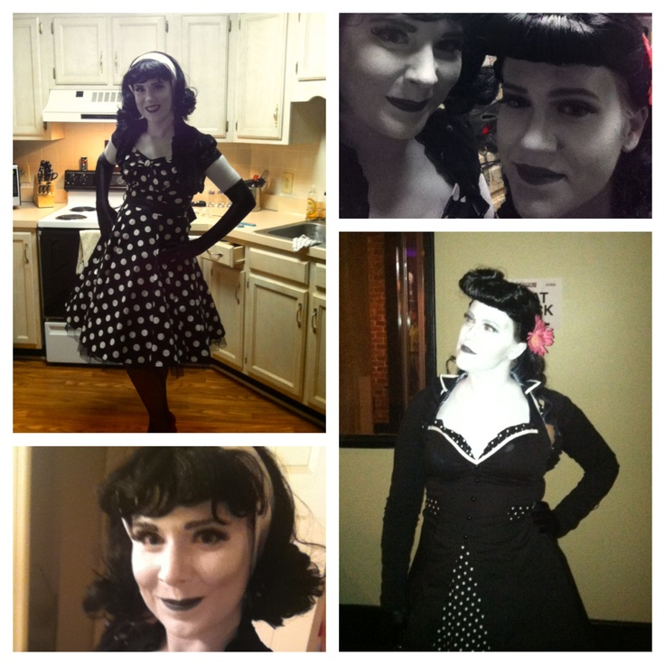 Pleasantville halloween costume black and white
