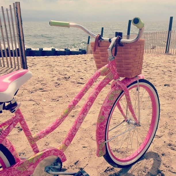 Lilly Pulitzer bike